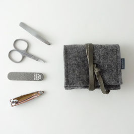 mini-maniküre-set 'jacob' dunkelgrau_grau