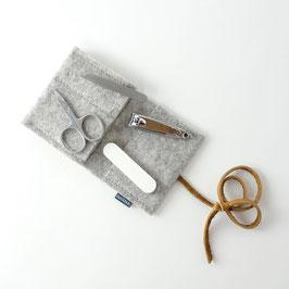 mini-maniküre-set 'jacob' hellgrau_hellbraun