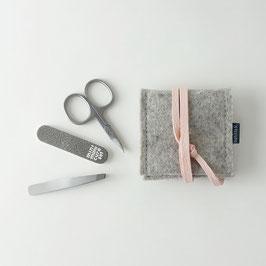 mini-maniküre-set 'ella' hellgrau_rosa