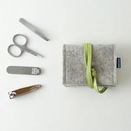 mini-maniküre-set 'jacob' hellgrau_grün