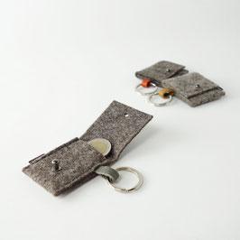Schlüsselanhänger mit Täschchen 'august'