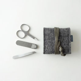 mini-maniküre-set 'ella' dunkelgrau_grau