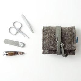 mini-maniküre-set 'jacob' braun_grau