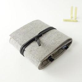 Taschen-Apotheke  'samuel 48'_hellgrau_schwarz