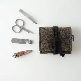 mini-maniküre-set 'jacob' braun_schwarz