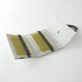 Taschen-Apotheke für Globuli 'samuel' 24   weißgrau_grau