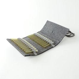 Taschen-Apotheke für Globuli 'samuel' 24   dunkelgrau_grau