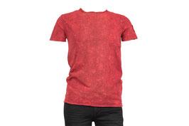 Modisch meliertes T- Shirt