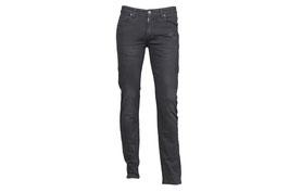 Praktische Stretch- Jeans mit eingearbeiteten Falten