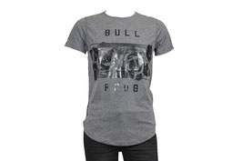 Bedrucktes T-Shirt mit Rundhalsausschnitt