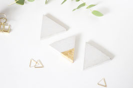 Betonmagnete Dreiecke 3er Set