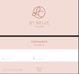 Cadeaubon BY Belle LC