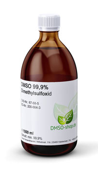 1000 ml DMSO 99,9% - Dimethylsulfoxid