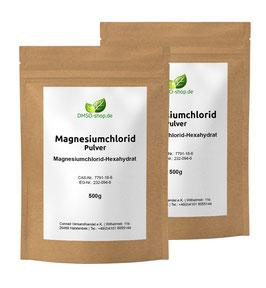 2 x 500 g Magnesiumchlorid