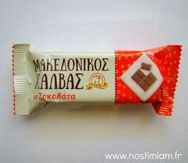 Halvas makedonikos au chocolat