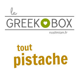 "La greek box : ""Tout pistache"""
