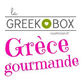 """La greek box : """"Grèce gourmande"""""""
