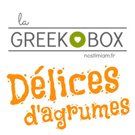"La greek box : ""Délices d'agrumes"""