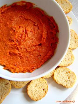 """Le paquet recette """"dip de tomates cerises séchées"""""""