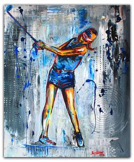 Golfspieler 168 Firma Turnier Golfer Gemälde