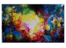 Supernova 5 Abstrakte Kunst Malerei 160x100