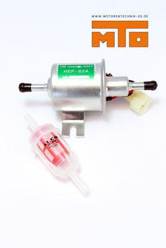 Förderpumpe Universal 12 Volt inkl. Filter