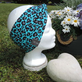 XL Turban Leo blue small