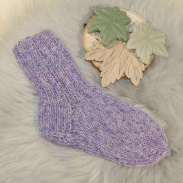 Socken 24/25 violett-flieder