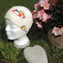 Stirnband Minions gelb
