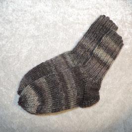Socken 26/27 grau meliert