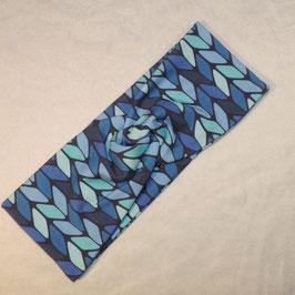 Turban blue Big-Strick