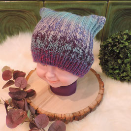 Kinder Fox Beanie Girlie three
