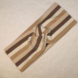 Turban brown Stripes