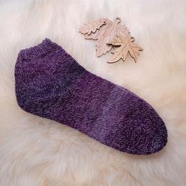 Sommer Sneaker Socken lila 40/41