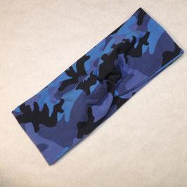 Turban blue Camouflage