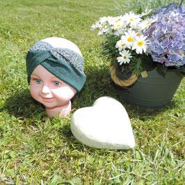 Kinder Turban Ministrick grün