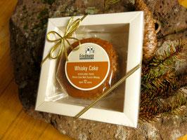 Whisky-Cake mit Highland-Park im Geschenkkarton
