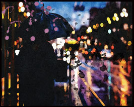 Feierabend im Regen