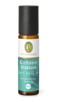 "Duft Roll On bio ""Konzentration"""