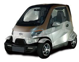 Spacy2 Elektro Leichtkraftfahrzeug 2-Sitzer bis 45 km/h