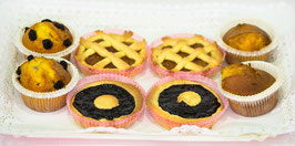 Crostatine e Muffin senza glutine