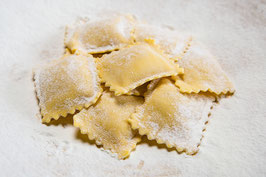 SquareS Tortelli with RICOTTA AND pumpkin