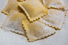 SQUARES Tortelli WITH WALNUTS AND Gorgonzola CHEESE