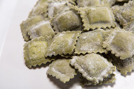 SQUARES Tortelli Radicchio  (CHICORY) AND SMOKED Scamorza CHEESE