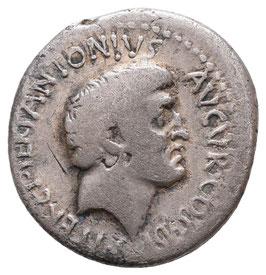 M. Antonius - auf die Siege in Armenien