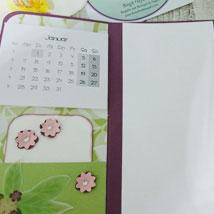 2. Materialpaket » Notizbuch mit Kalender