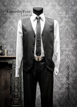 Extravagante Feist-Desginer-Krawatte