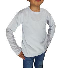 Playera Dry Fit Manga Larga Infantil Cuello Redondo Mayoreo