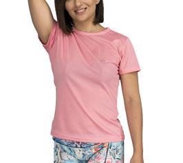 Playera Dry Fit Rosa Pastel