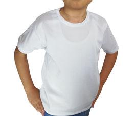 Playera Dry Fit Blanco Cuello Redondo